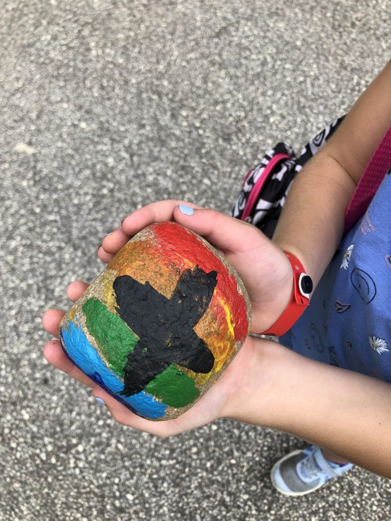 Rock Painting in Crafts