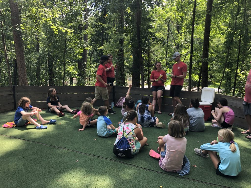 Short Bible lesson before popsicles